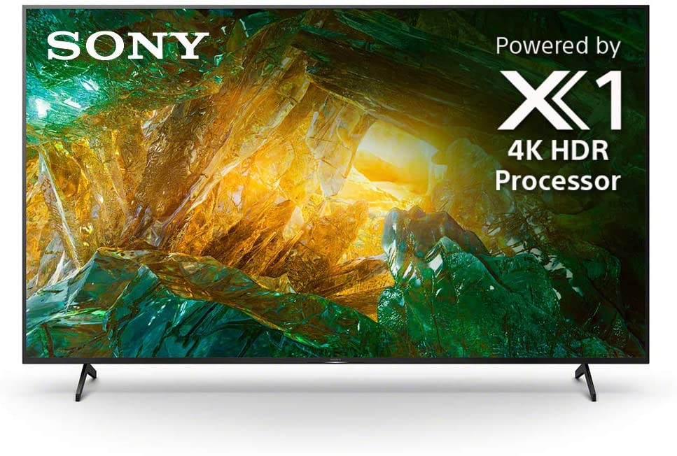 Sony X800H 55 Inch TV: 4K Ultra HD Smart LED TV