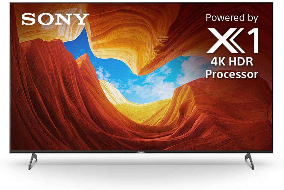 Sony X900H 55 Inch TV: 4K Ultra HD Smart LED TV with HDR